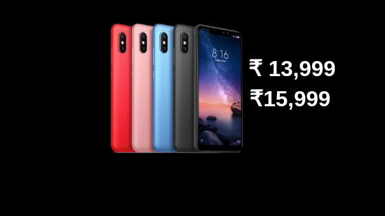 Redmi Note 6 Pro India TechUNeed