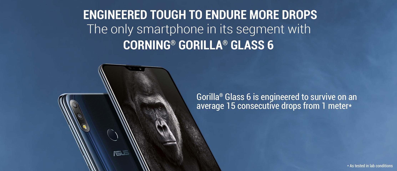 Zenfone Max Pro M2 Gorilla Glass 6