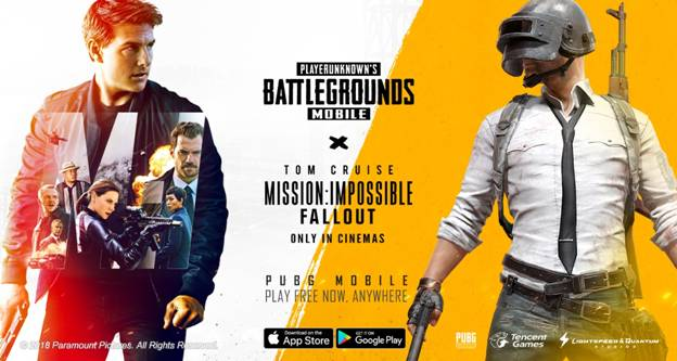 PUBG Mission Impossible Fallout