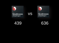 Qualcomm Snapdragon 439 vs Qualcomm Snapdragon 636