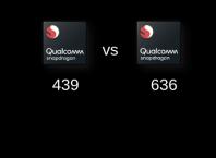 Qualcomm Snapdragon 439 vs Qualcomm Snapdragon 636