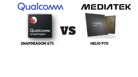 Qualcomm Snapdragon 675 vs MediaTek Helio P70