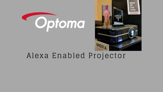 optoma Alexa Enabled Projector