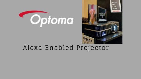 optoma Alexa Enabled Projector