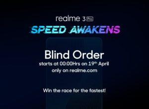 Realme Blind Order