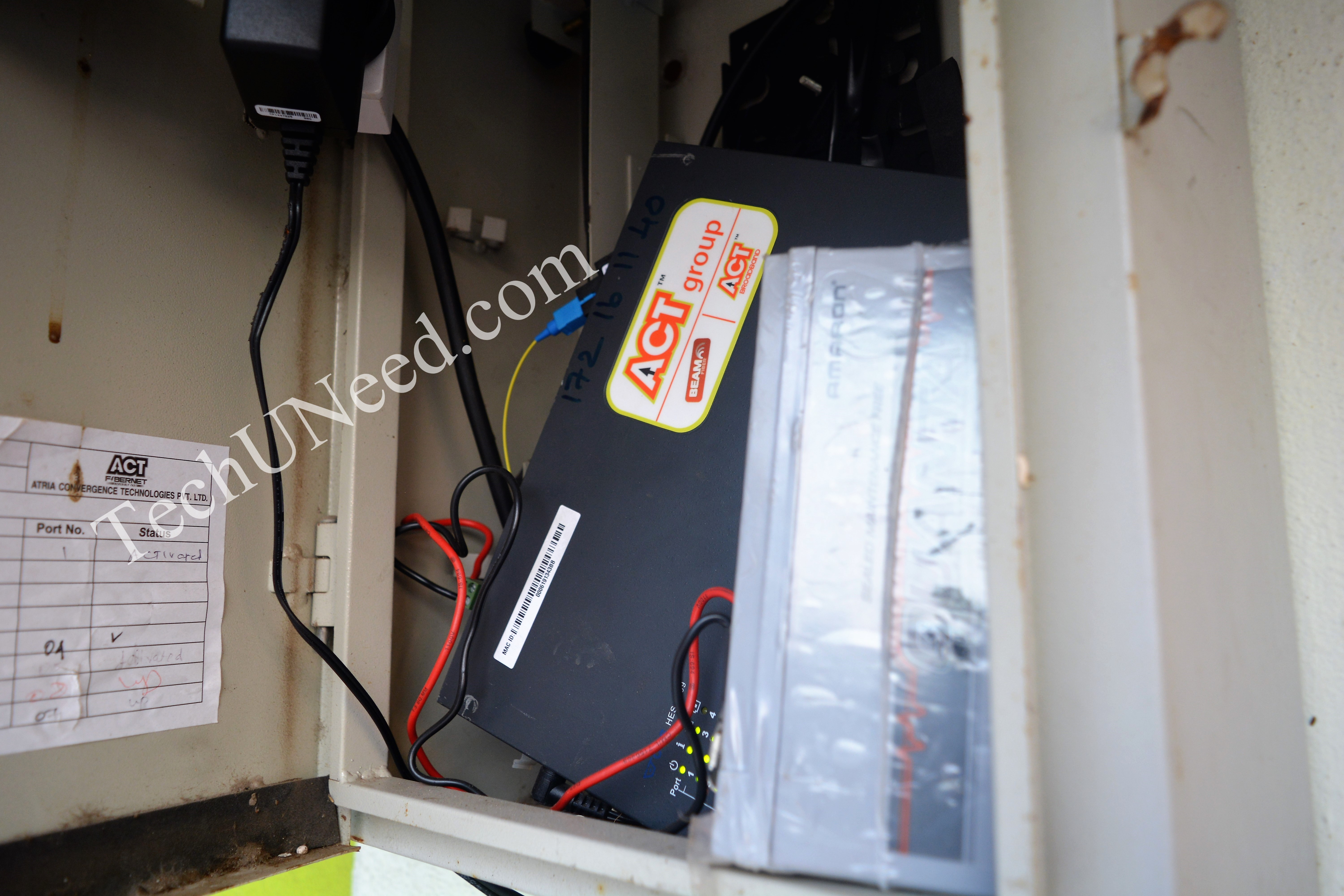 ACT Fibernet box