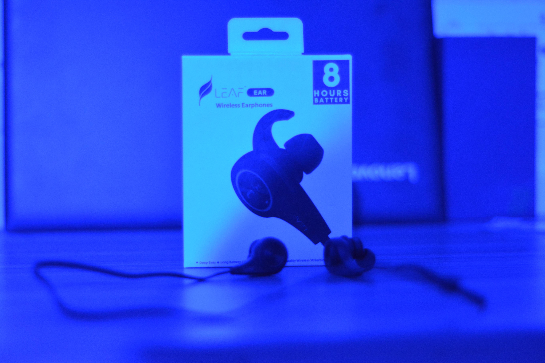 leaf earphones
