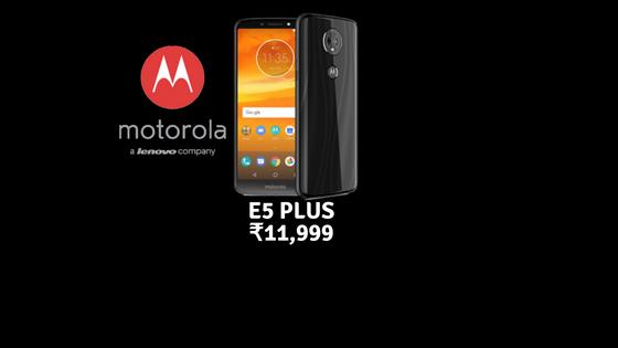 Moto E5 Plus India
