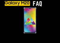Samsung Galaxy M20 FAQ