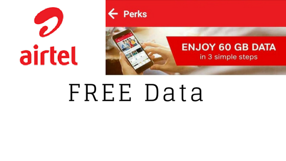 Airtel Is Offering Free 60 GB Data For Postpaid Customers