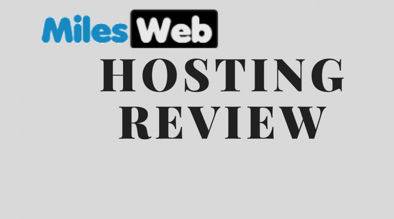 miles web hosting review