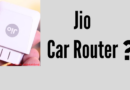 Jio Car Router