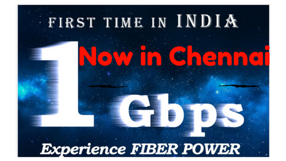 1Gbps in Chennai