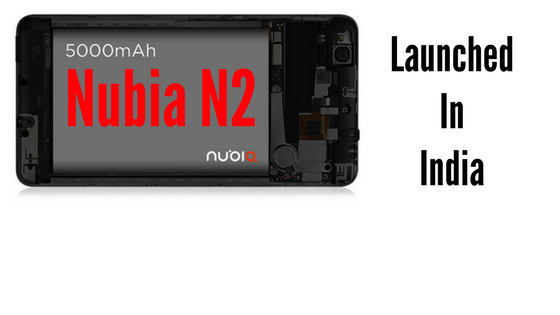 Nubia N2 India