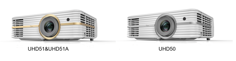 Optoma Launches New UHD51A, UHD51 and UHD50 4K Home Projectors