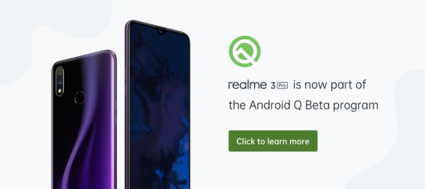 Realme 3 Pro Android Q