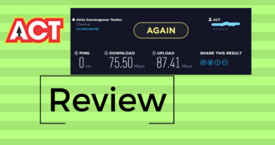 ACT Fibernet Review