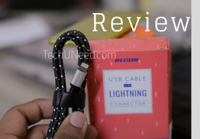 Regor Lightning Cable Review- Sturdy and Rugged
