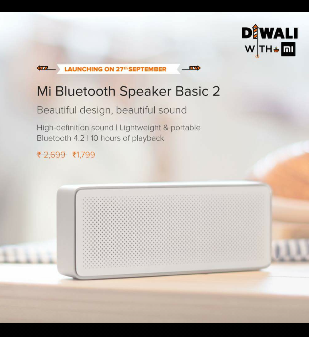 mi bluetooth speaker basic 2 india