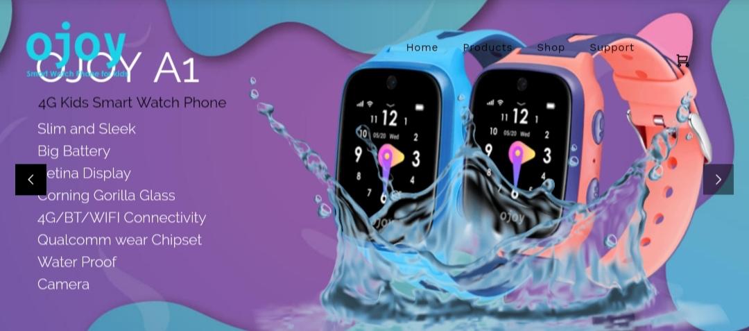 Ojoy A1 Smart Watch Phone