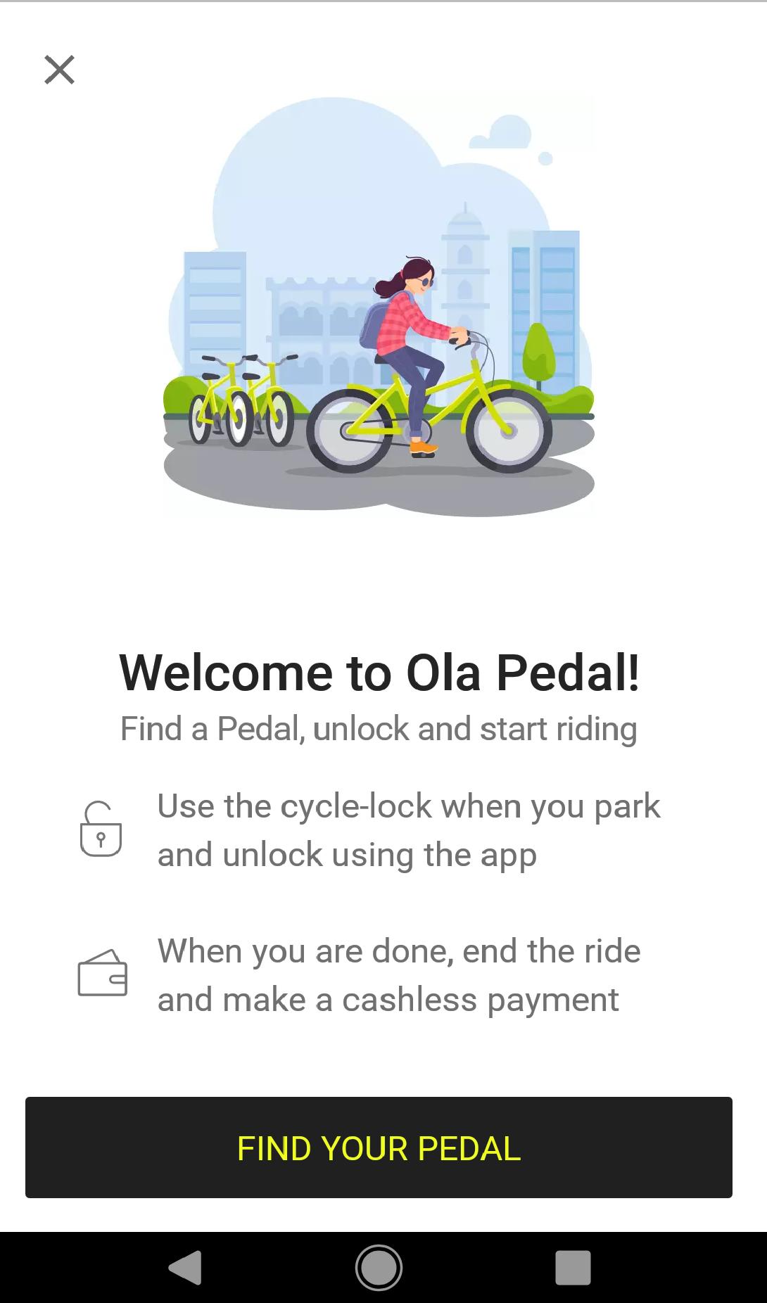 Ola Pedal Chennai
