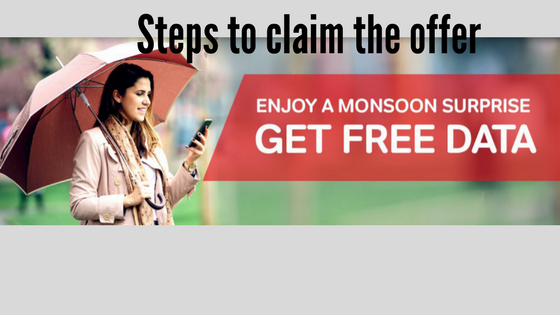 claim airtel monsoon offer