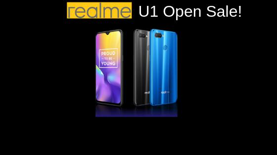 Realme U1 Open Sale