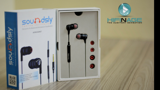 soundsly apaisant earphone