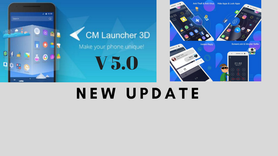 cm launcher 3d v5.0