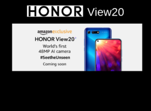 Honor View20 Amazon India