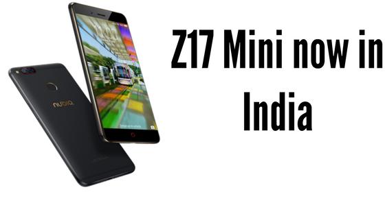 nubia z17 mini India