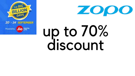 Zopo to offer up to 70% discount in Flipkart Big Billion Day Sales